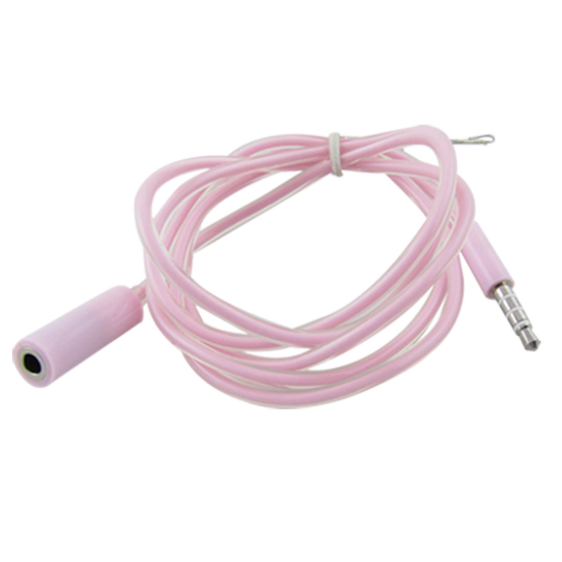 3.2FT 3.5mm M/F Extension Cable Pink for iPhone 3G 3GS