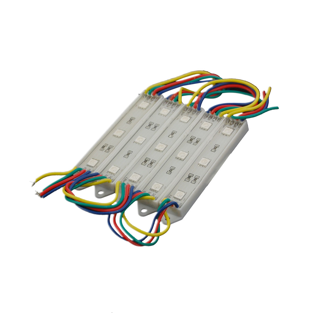 DC12V SMD 5050 Green Blue Red 15-LED 5 Modules Decorative Light