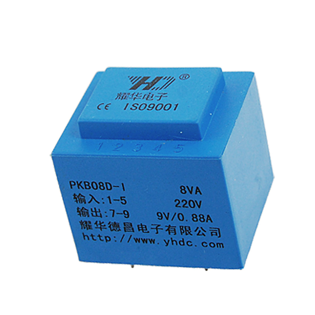 Epoxy Resin Sealed Encapsulated Power Transformer 8VA