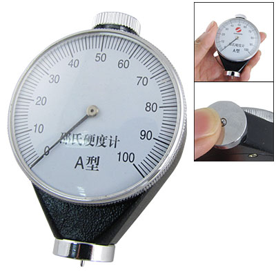 Durometer Type A 0-100mm Rubber Hardness Tester NEW