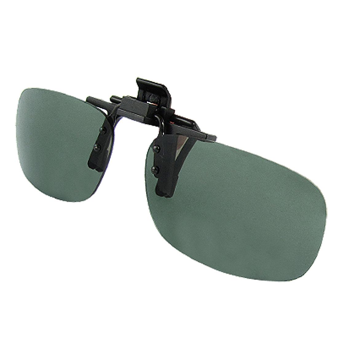 Outdoor Frameless Green Lens Flip up Sunglasses for Men