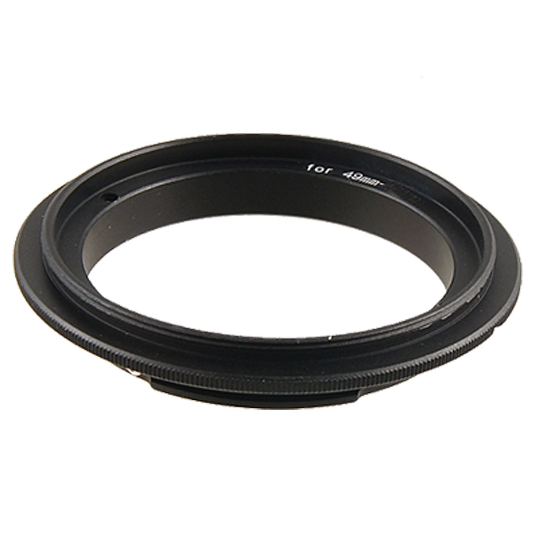 49mm Camera Metal Reverse Macro Lens Adapter Ring Black for Nikon