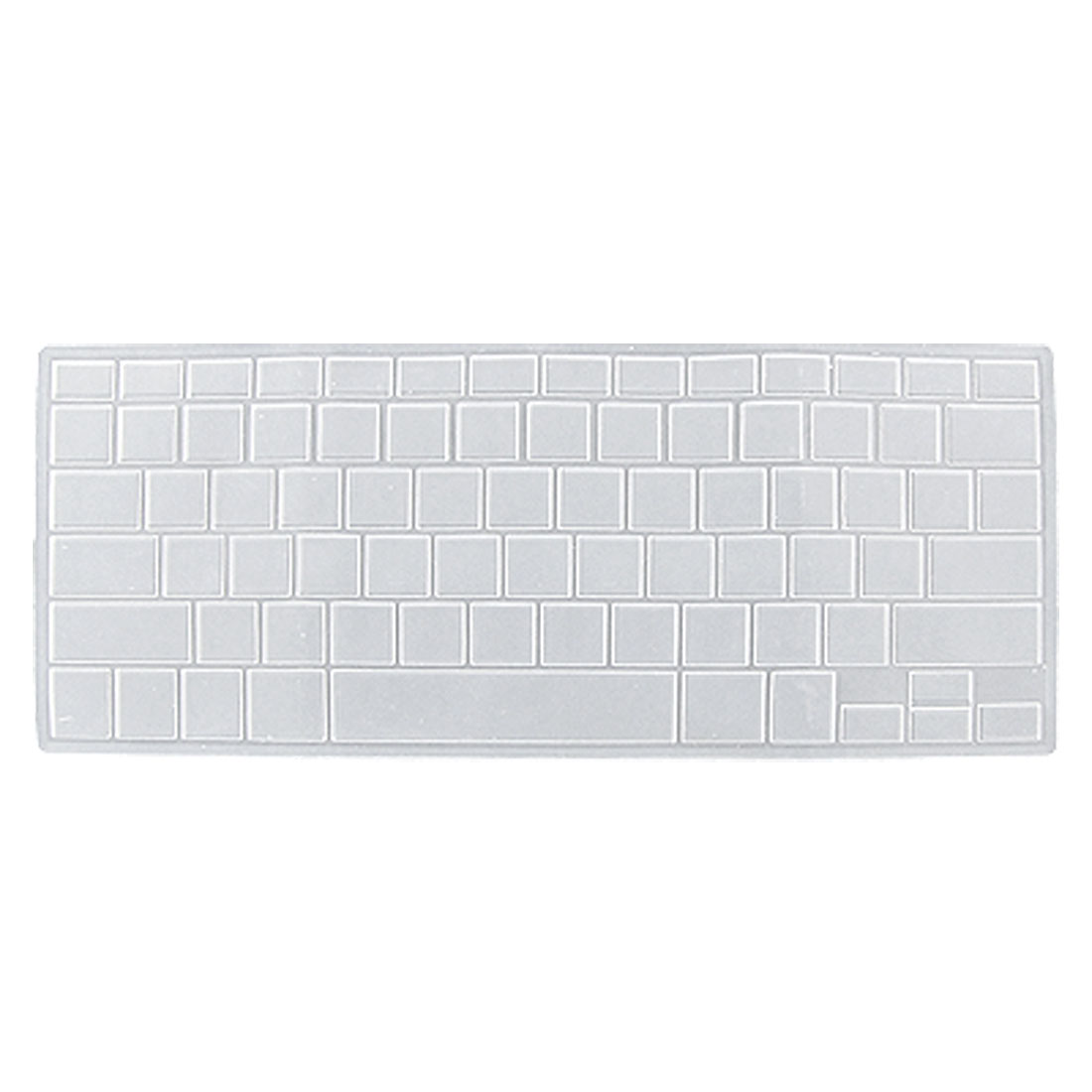 Clear Soft Silicone Keyboard Cover for Apple Macbook Pro 13.3""