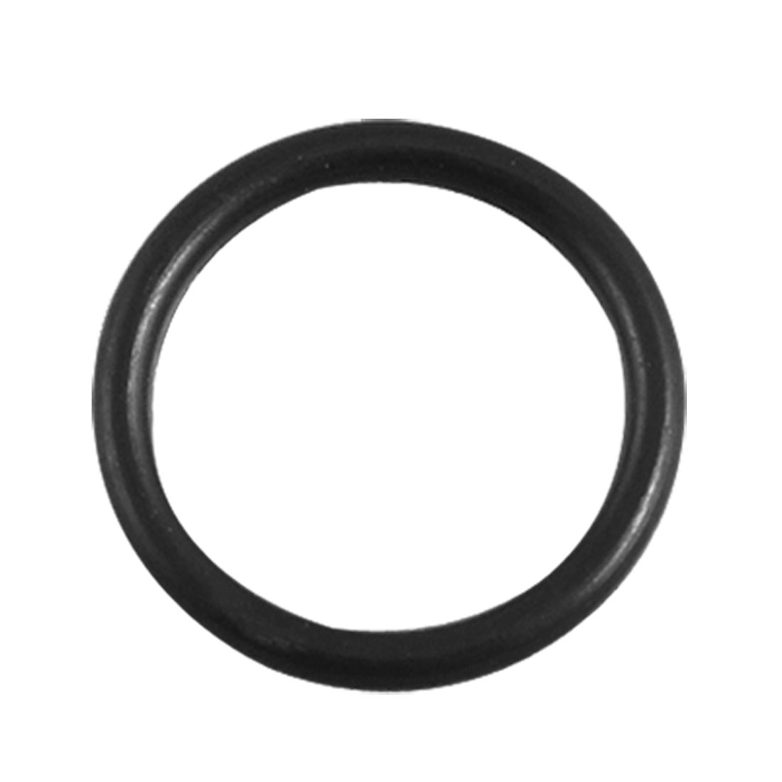 14 x 1.5mm Black Rubber O Type Sealing Ring Gasket Grommets 50 Pcs