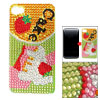 Multicolor Cake Decor Crystal Back Sticker Sheet for iPhone 4 4G