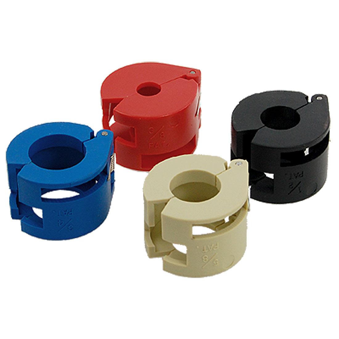 AC Fuel Line Plastic Spring Locking Coupling Tool 4 Pcs