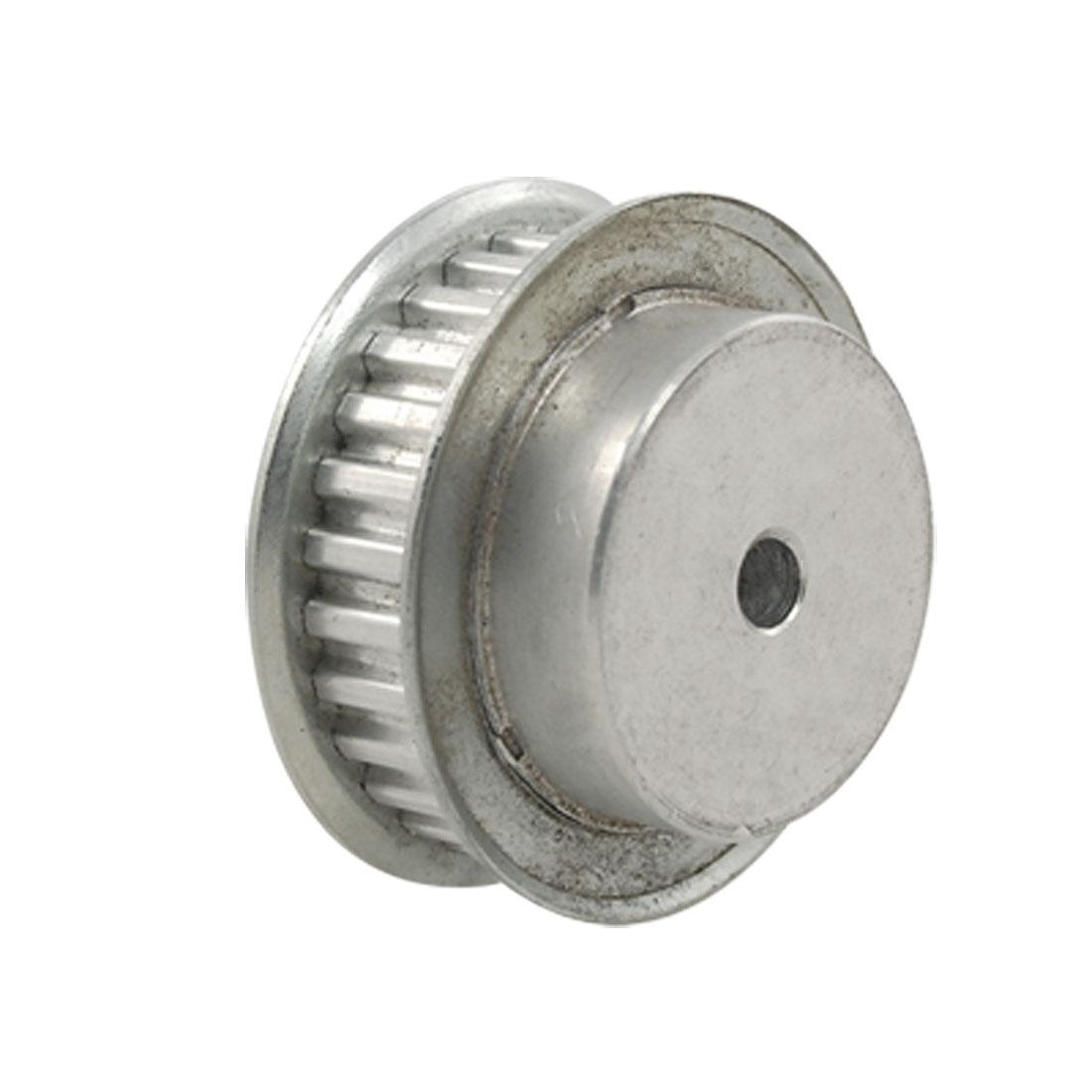 28XL037 Aluminum Timing Belt Pulley 28T 6mm Bore 2 Flanges
