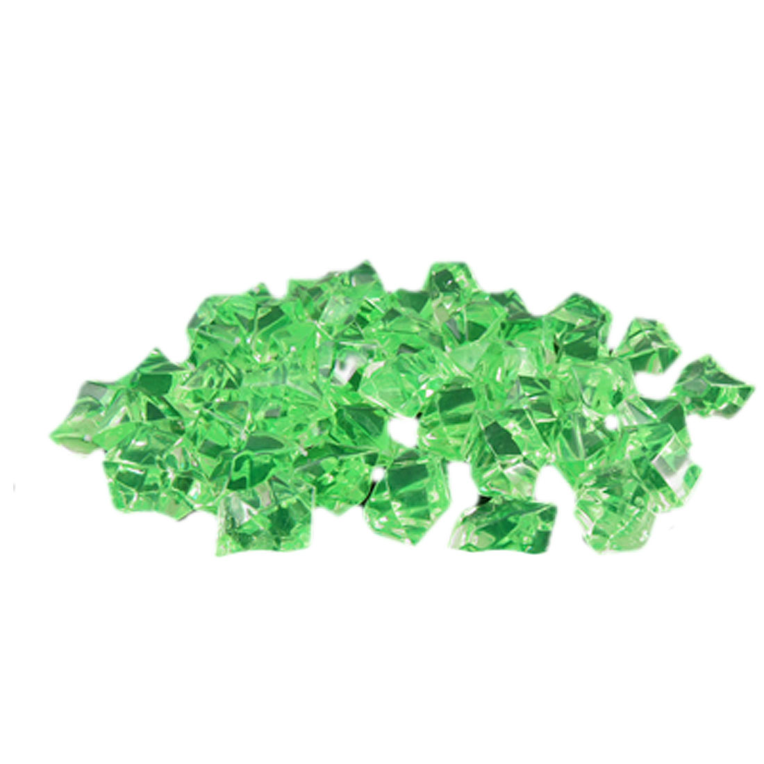 Artifical Green Crystals Ornament for Aquarium 60 Pcs