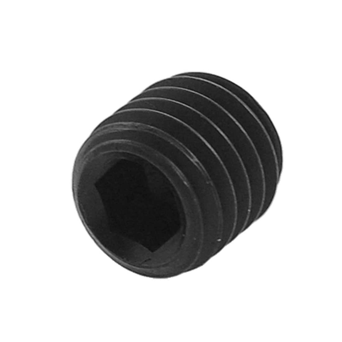 "5/16"" x 25/64"" Hexagon Socket Blk Grub Screw Bolt 3 Pcs"
