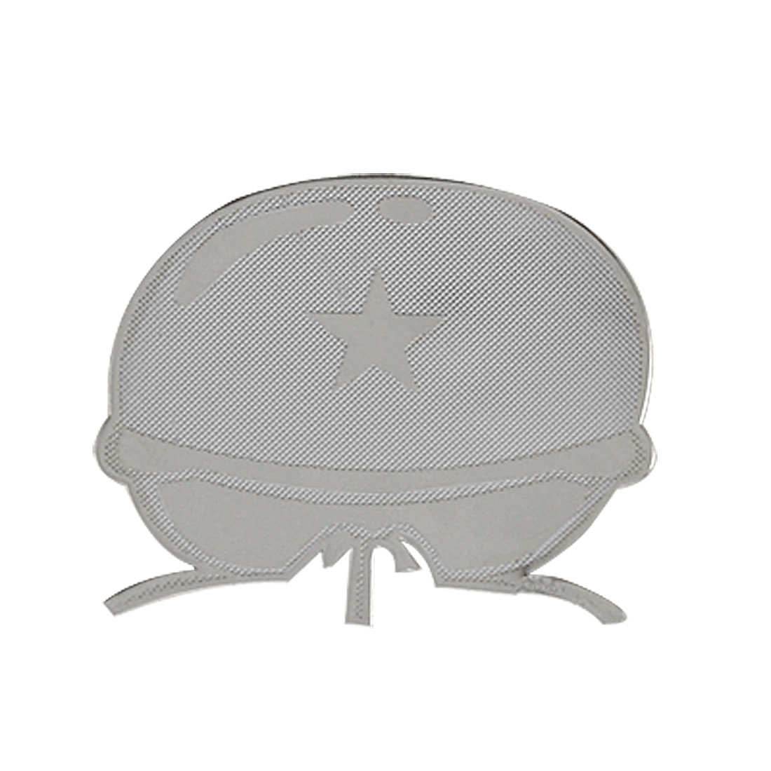 Adhesive Protection Soldier Hat Pattern Sticker for Mobile