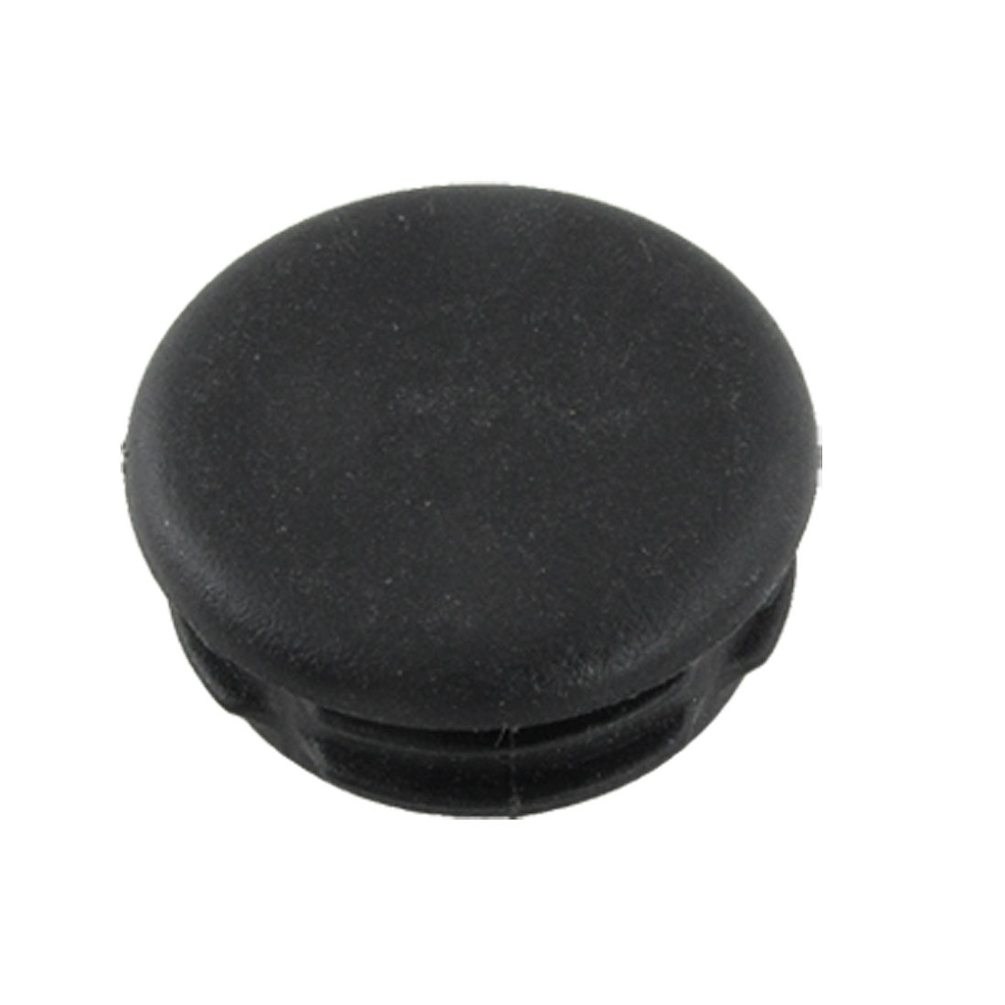 10 Pcs Table Chair Legs Black Plastic 30mm Dia Caps Floor Protectors