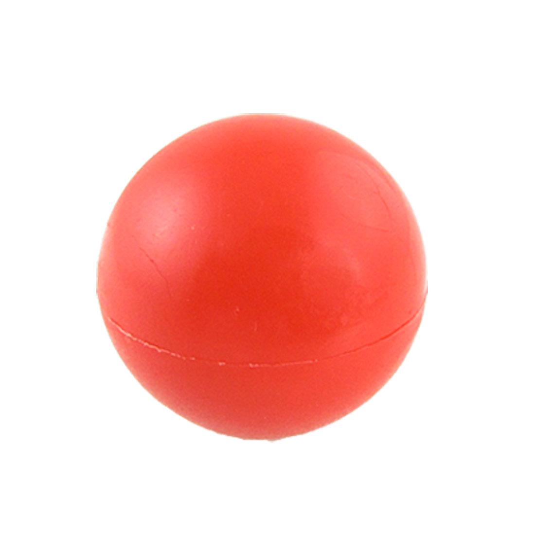 12mm Thread Hole Red Plastic 40mm Diameter Handle Ball Knob