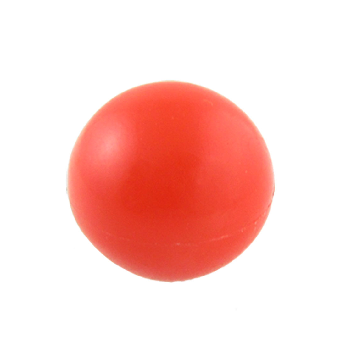 Solid Red Round Plastic 32mm Diameter Ball Lever Knob