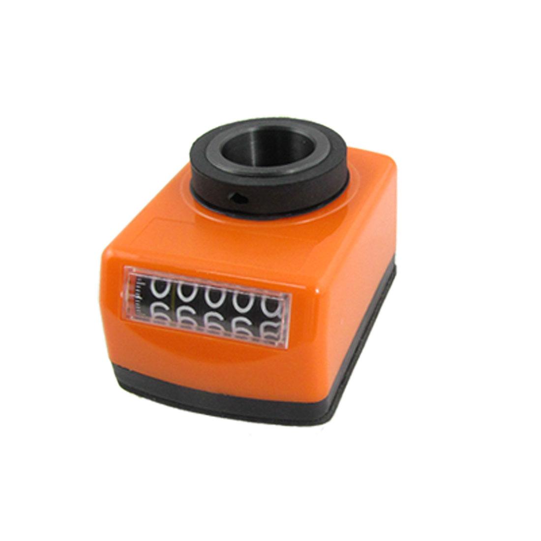 20mm Bore Orange Plastic Shell Machanical Digital Position Indicator