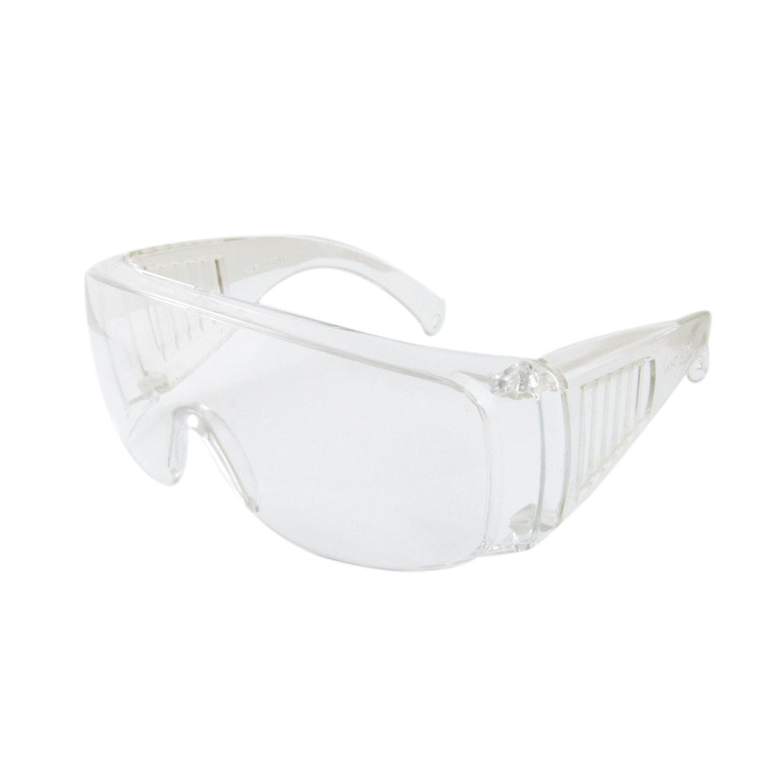 Plastic Frameless Oval Lens Protective Clear Safety Glasses for Men