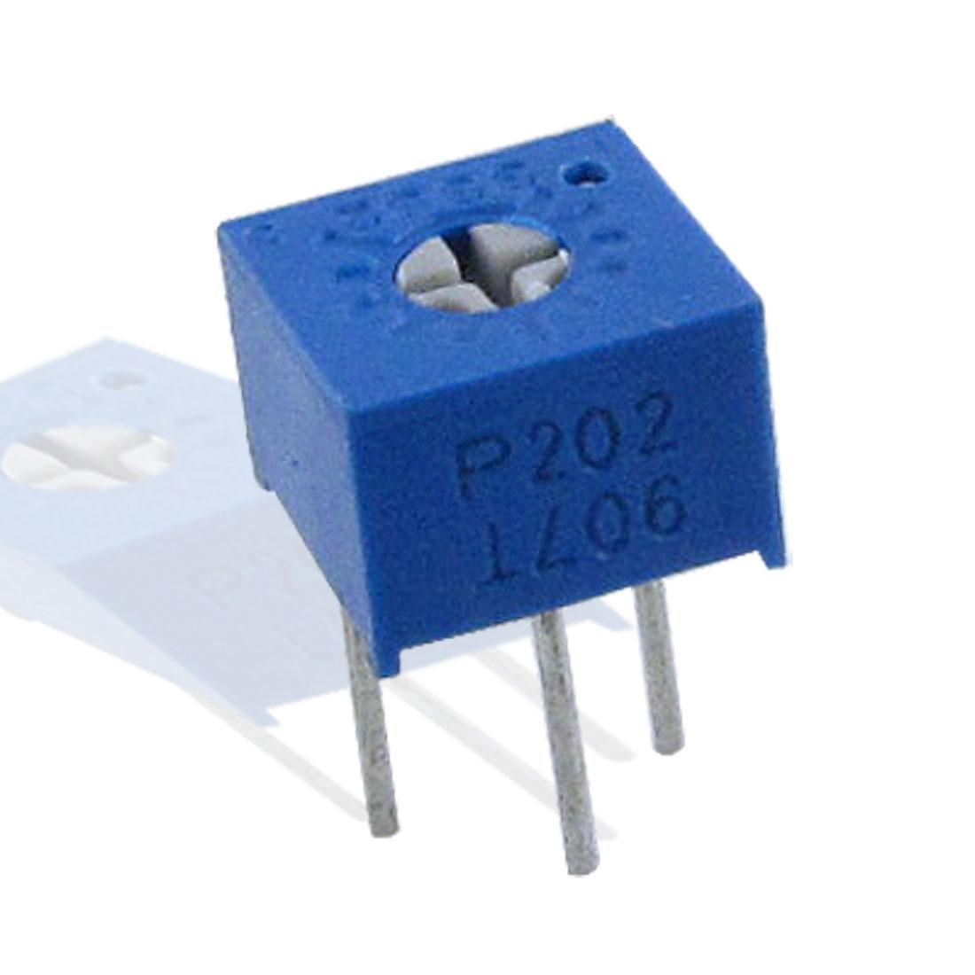 5 x 50K ohm 500V 10% Trimpot Variable Resisitors 3362P-1-503