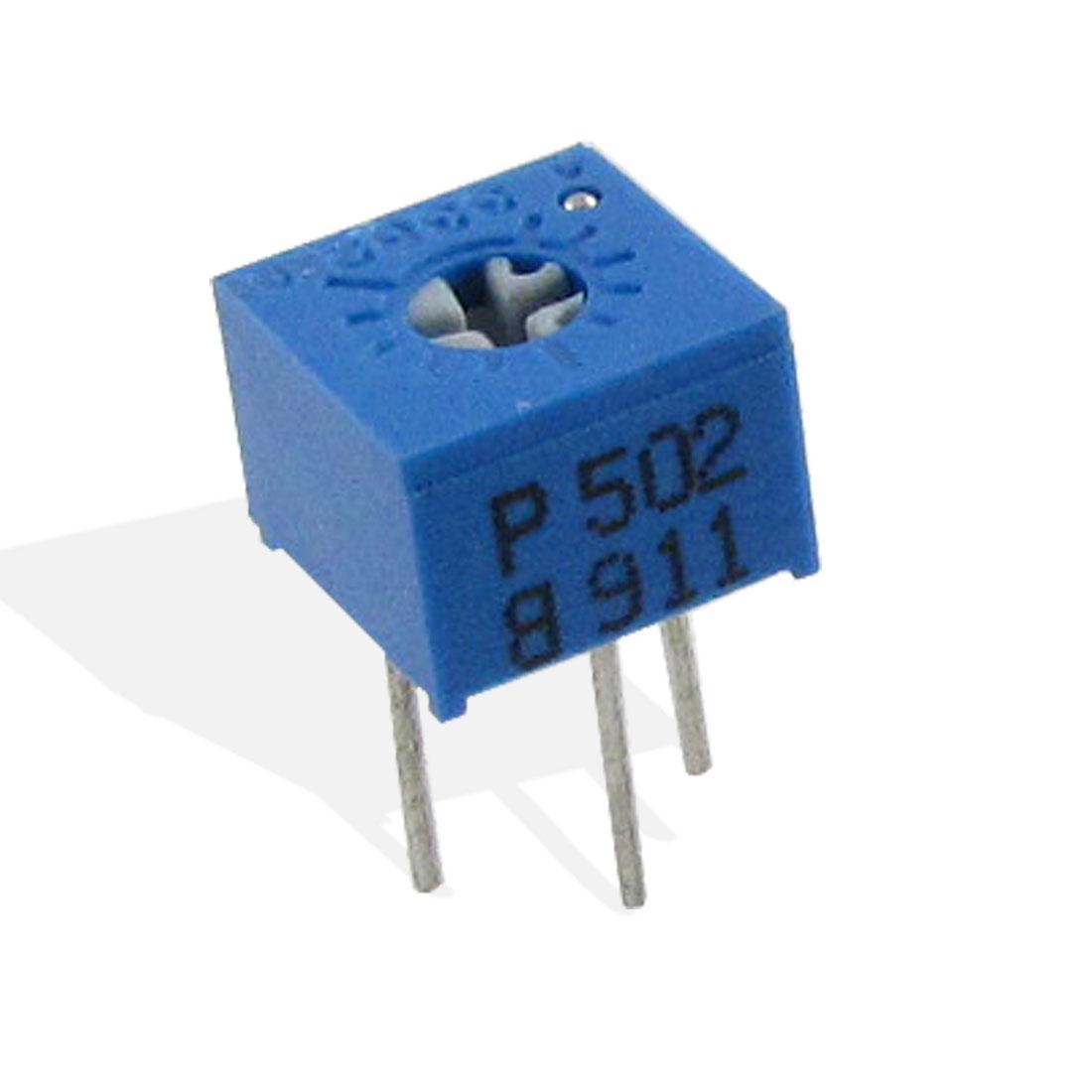 3 x 5K ohm Top Adjustment Trimmer Pot Variable Resistor