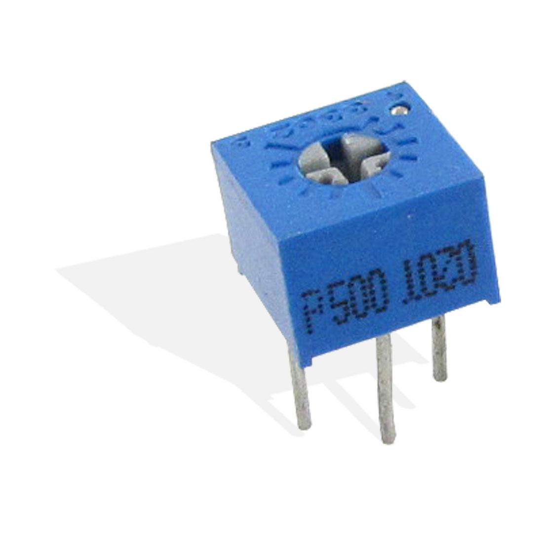 5 x 50 ohm DIP 3 Pins Potentioment Variable Resistors