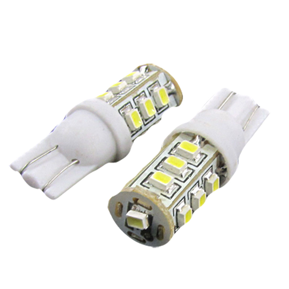 2 x Car T10 W5W 13 1210 SMD LED Wedge Bulbs White Side Signal Indicator Lights