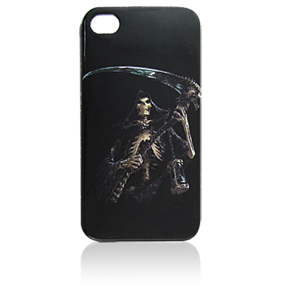 Angel of Death Pattern Plastic IMD Back Cover Guard for iPhone 4 4G