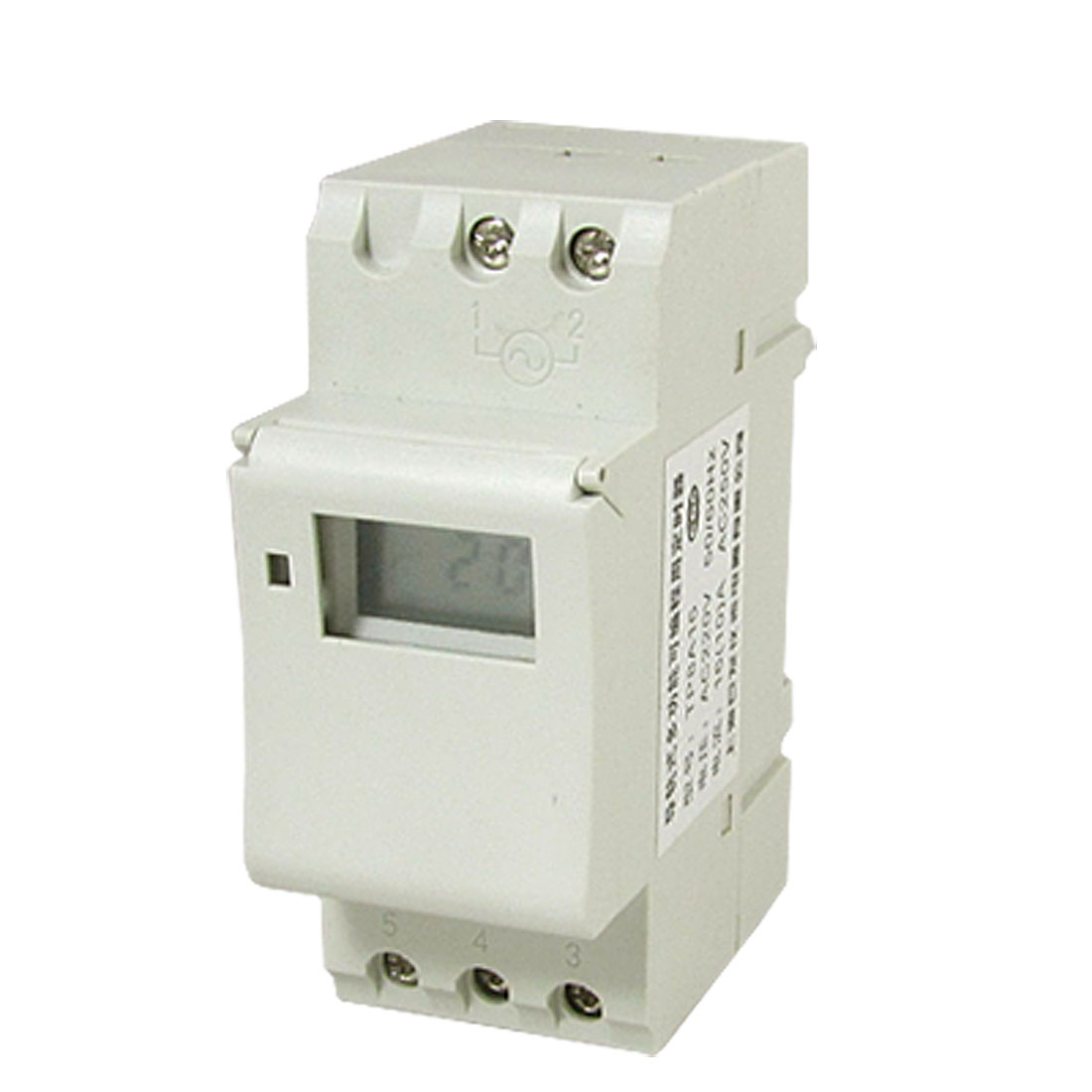 AC 220V DIN Rail Mount Week Time Display Digital Programmable Timer Switch