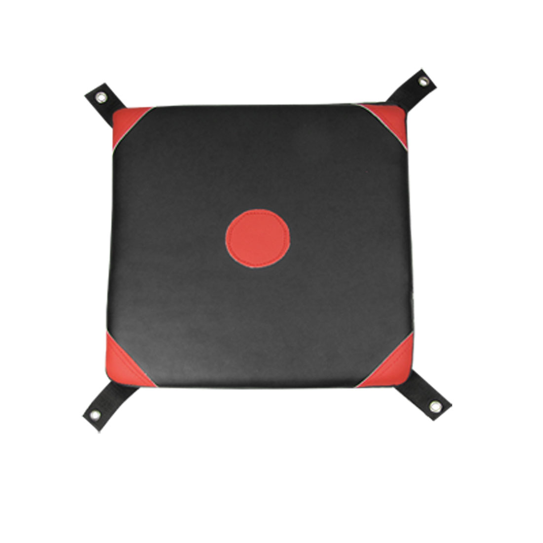 Boxing Faux Leather Coated Wall Punch Pad Bag Target Black Red