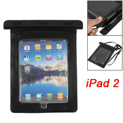 Waterproof Bag Case Skin Cover Black for Touch Screen