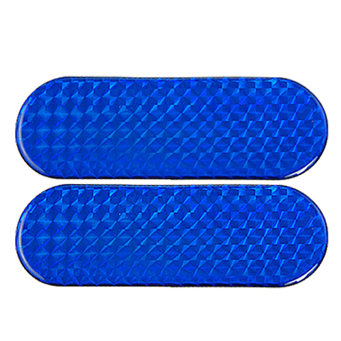 Universal Blue Bar Reflective Stickers Decal 2 Pcs for Vehicles