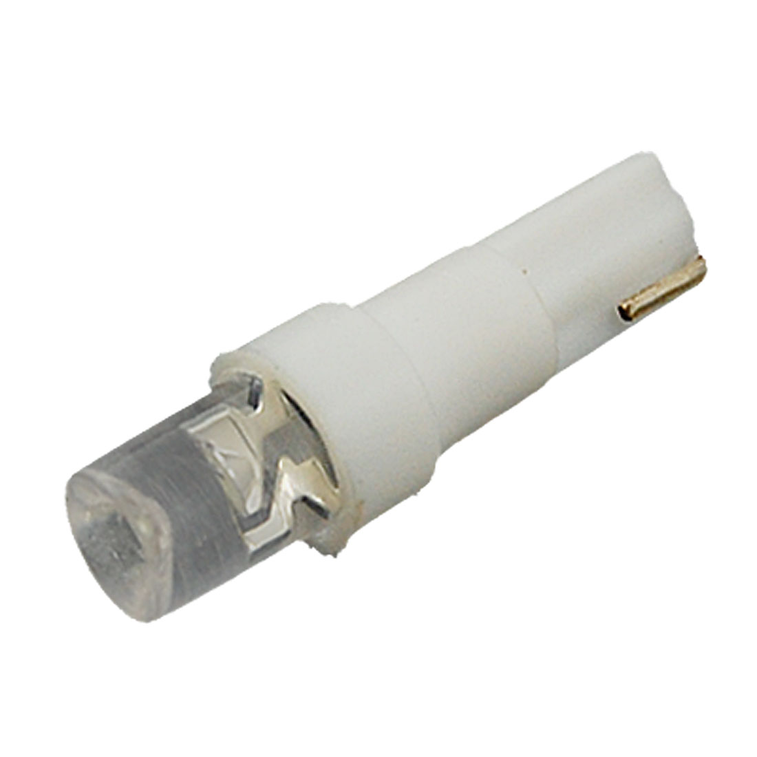 4 Pcs Auto Car White Lamp T5 LED Backup Dashboard Light Bulbs