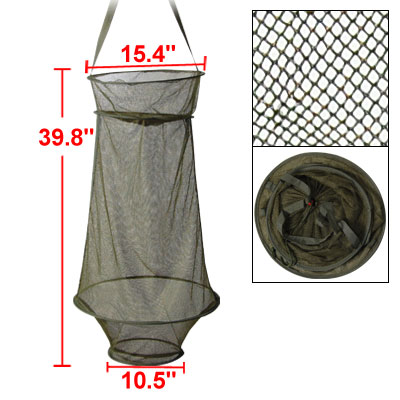 Shrimp Minnows Eels Crab Crawfish Fishing Cage Net 39.8""