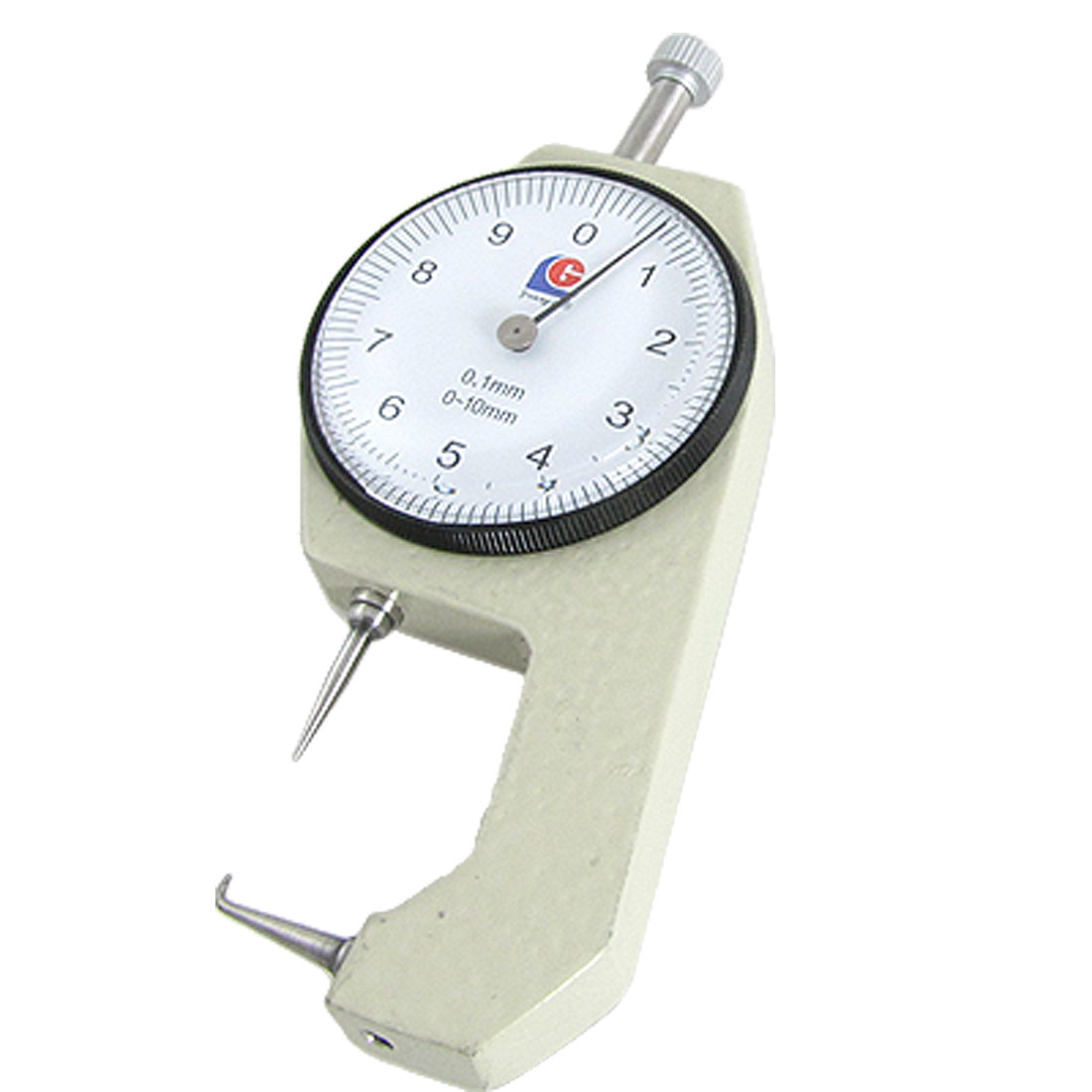 Measuring 0-10mm x 0.1mm Mini Dial Thickness Gauge Tool