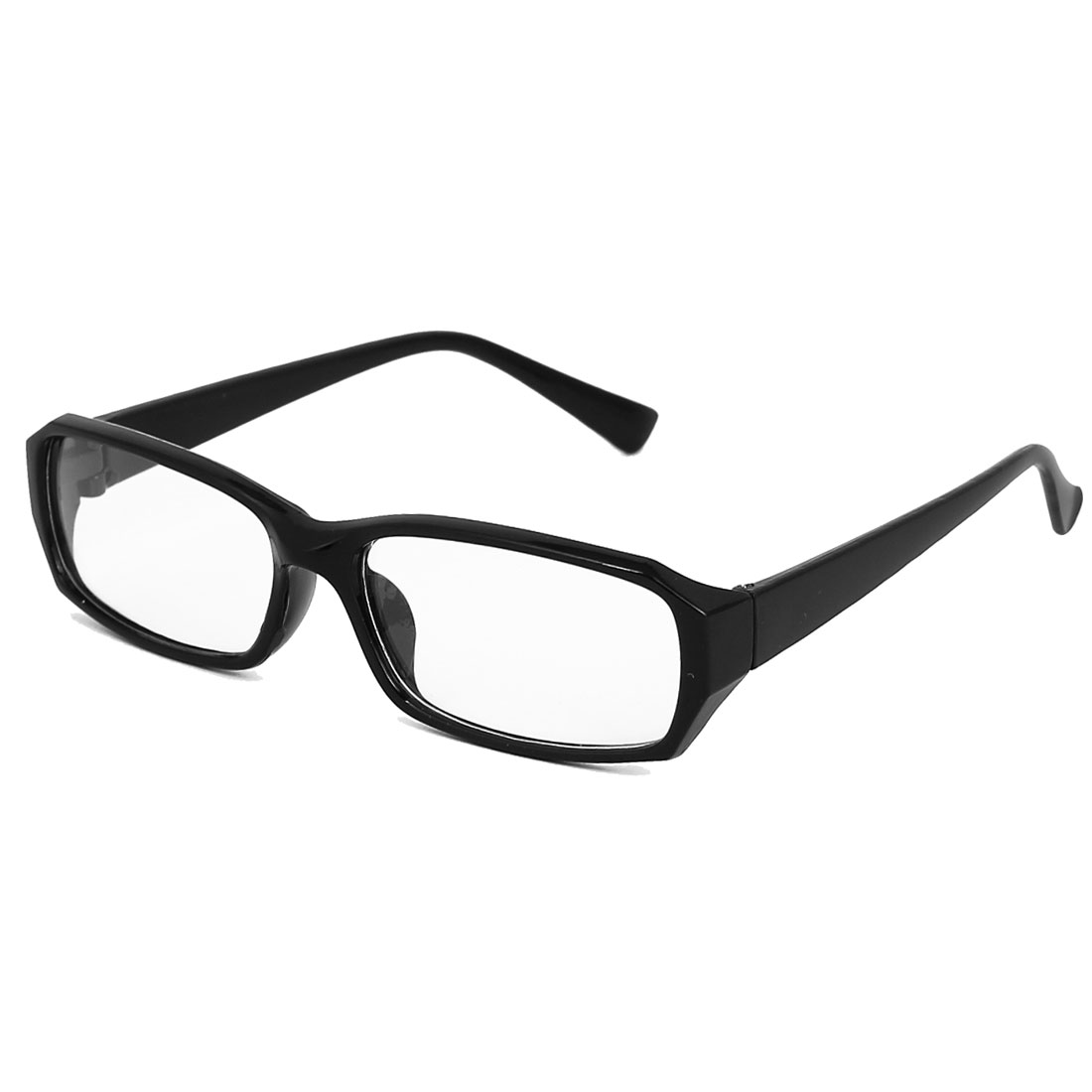 Plastic Horned Rim Clear Lens Plano Eye Glasses for Men And Women
