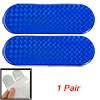 "2pcs Blue Car Reflective Self Adhesive Warning Tape Sticker Decal 4.7"" x 1.6"""