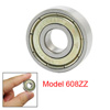 608Z 8mm x 22mm x 7mm Shielded Deep Groove Ball Bearing