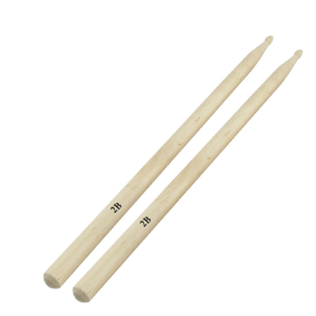 Rhythm Band 2B Wooden Jazz Drum Sticks Drumsticks Pair