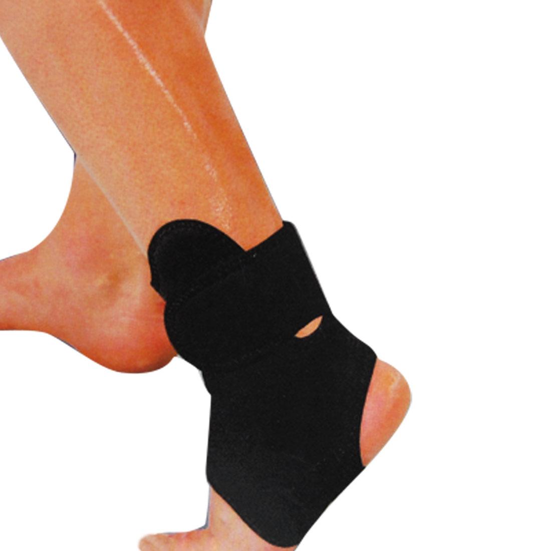 Elastic Black Neoprene Angle Support Protector Brace