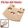 4/4 Size Acoustic Violin Fiddle Replacement Wooden Bridge