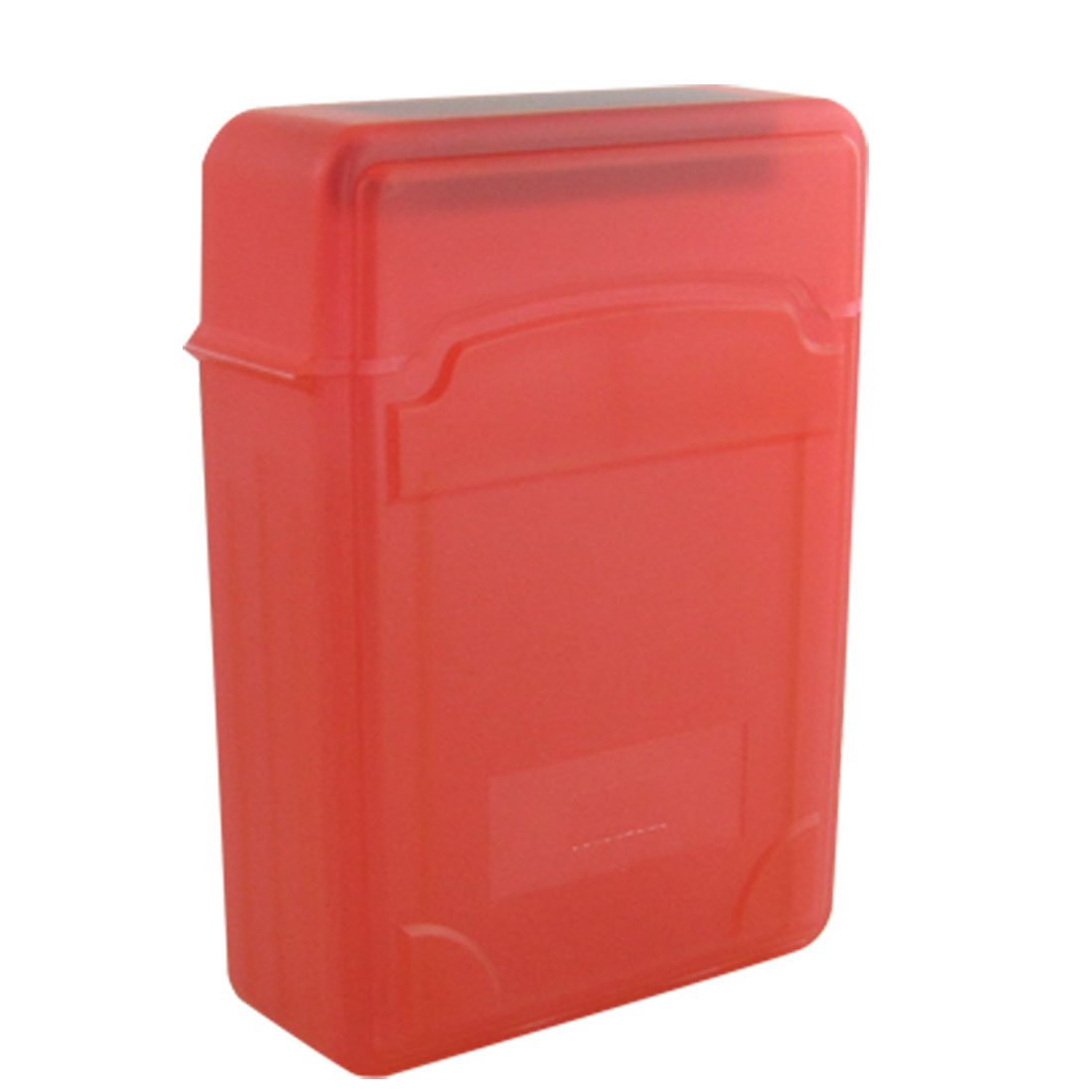 "Red Protective 2.5"" HDD Storage Plastic Hard Drive Case Box"