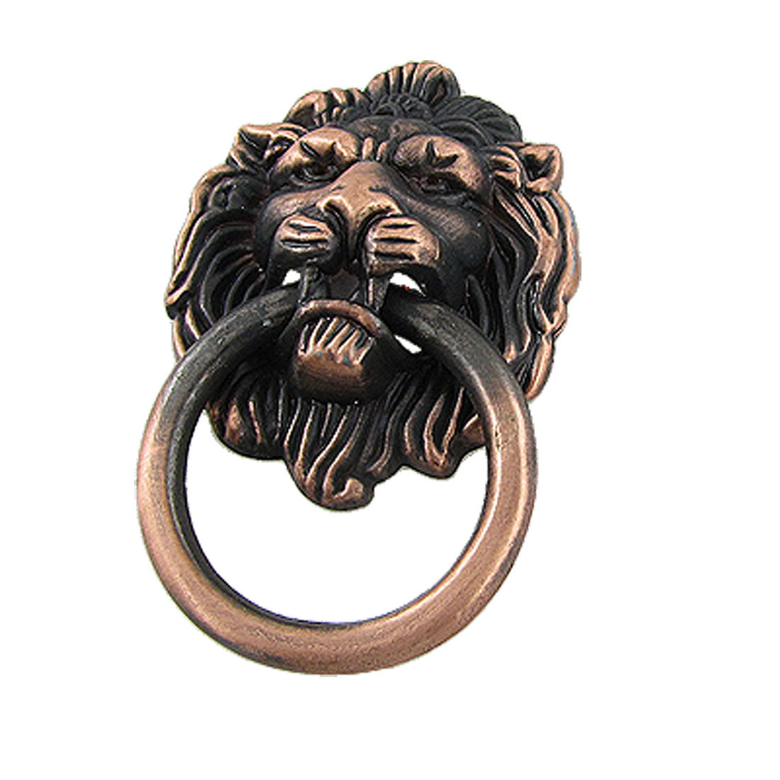 Lion Head Vintage Brass Cabinet Cupboard Door Pull Handle