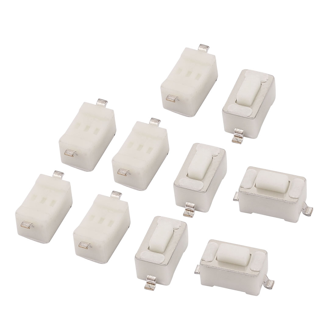 10 Pcs Momentary Tact Tactile Push Button Switch SMD SMT 2 Pin 3mm x 6mm x 4.3mm