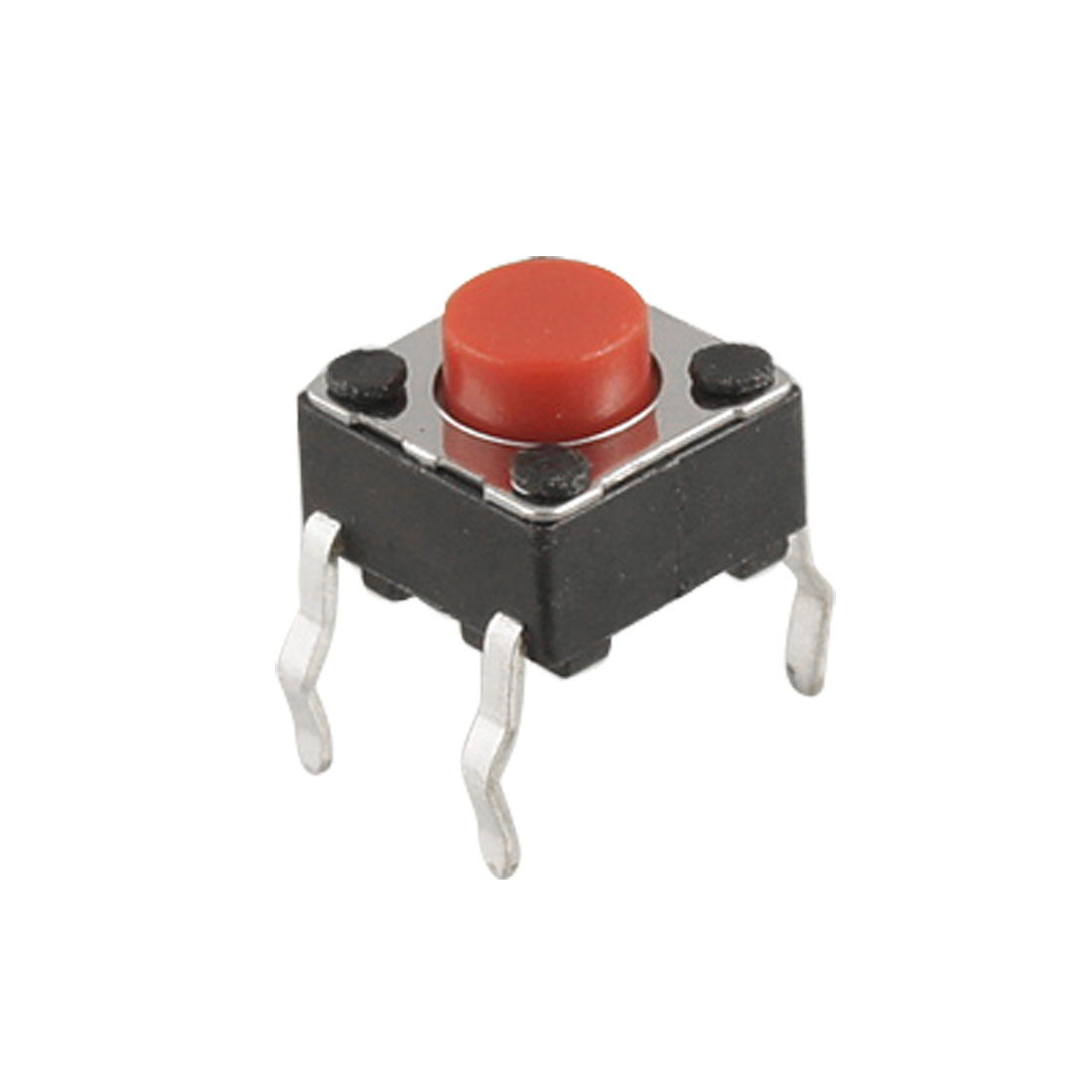 10 Pcs 4 Pins Tactile Push Button Switch Momentary Tact 6 x 6 x 5mm