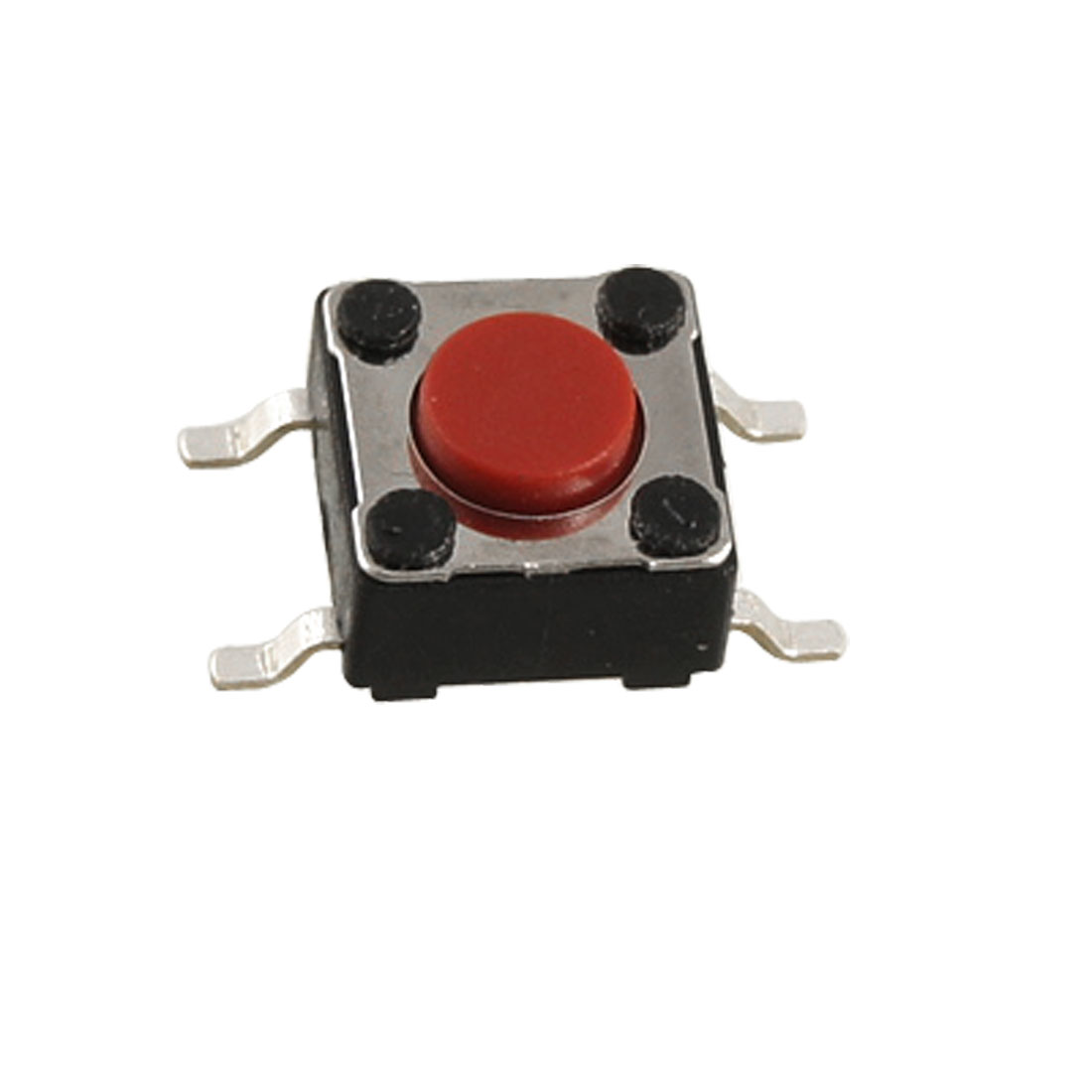 10 Pcs Red Momentary Tact Tactile Push Button Switch SMD SMT PCB 4 Pin 6 x 6 x 4.3mm