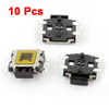 10 Pcs Momentary Tactile Tact Push Button Switch 4.7 x 3.5 x 1.67mm 4 Pin SMD