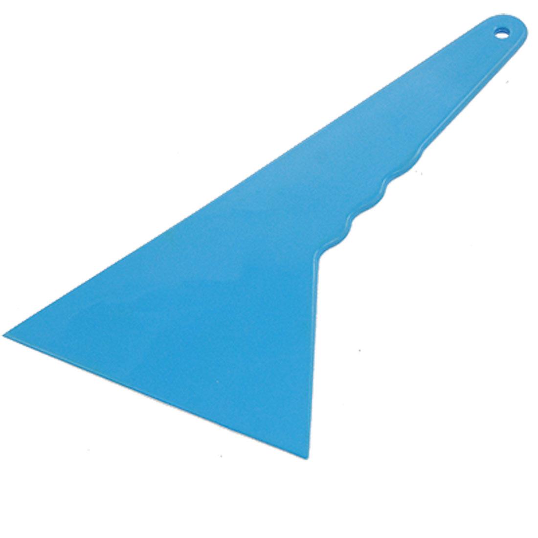 Blue Plastic Window Windshield Tint Film Scraper for Car Auto