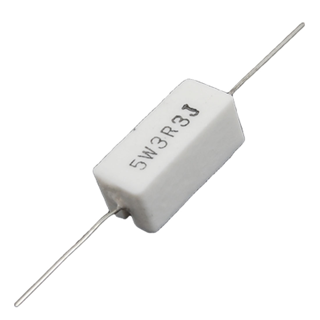3R3 3.3 Ohm 5% 5W Axial Lead Ceramic Cement Resistor 10 Pcs