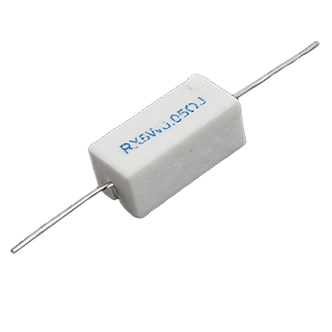 0.05 R Ohm 5% 5W Watt Ceramic Cement Power Resistor 10 Pcs