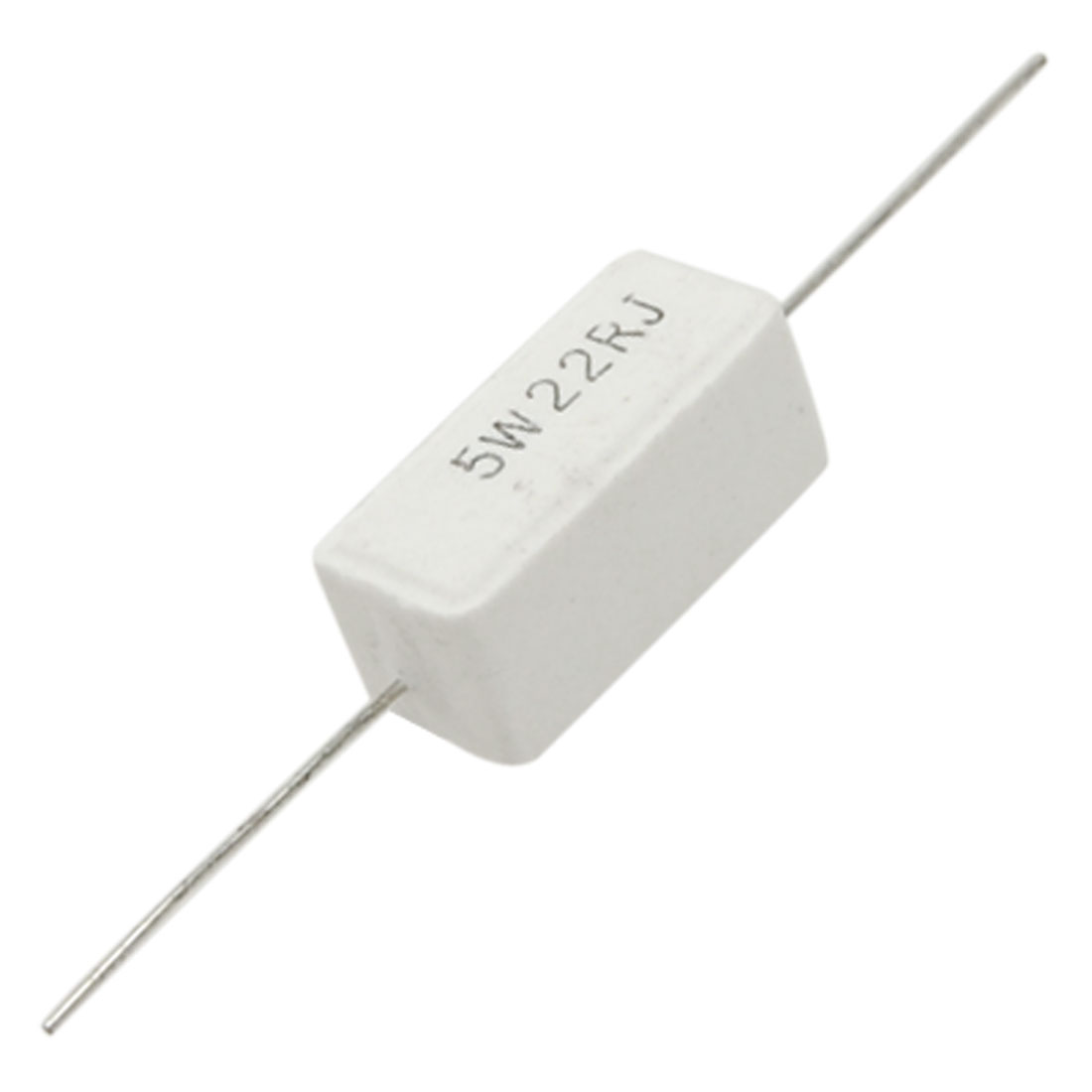 22 R Ohm 5% 5W Watt Ceramic Cement Power Resistor x10pcs