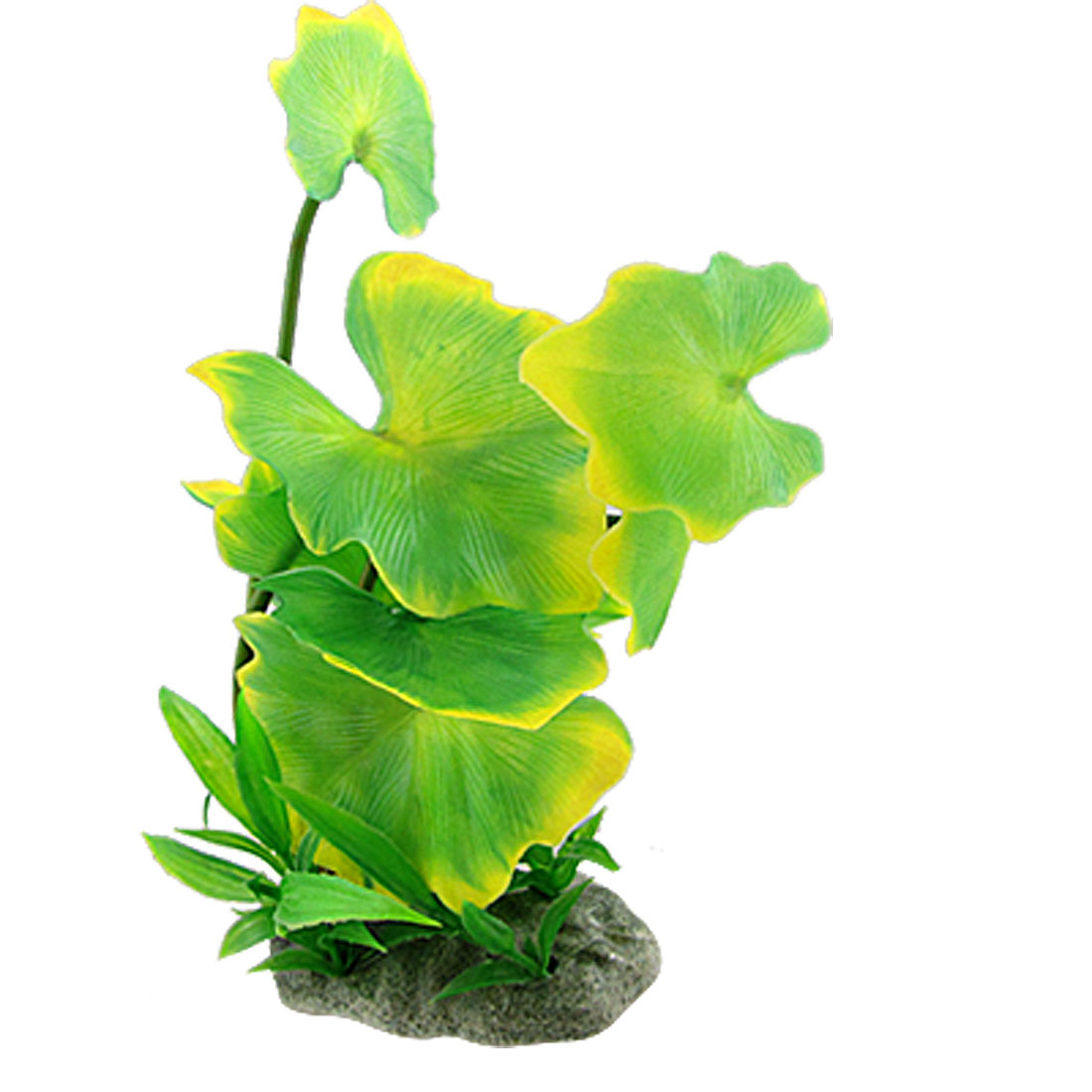 Aquarium Fish Tank Green Leaves Plastic Plant Decor Aquascaping
