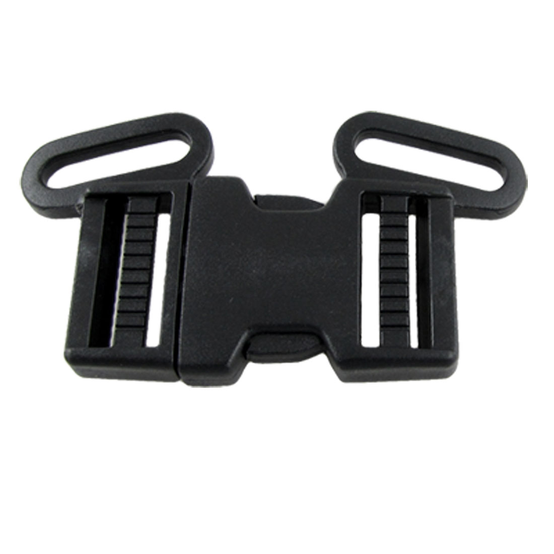 Black Hard Plastic Quick Release Buckle for School Bag Backpack