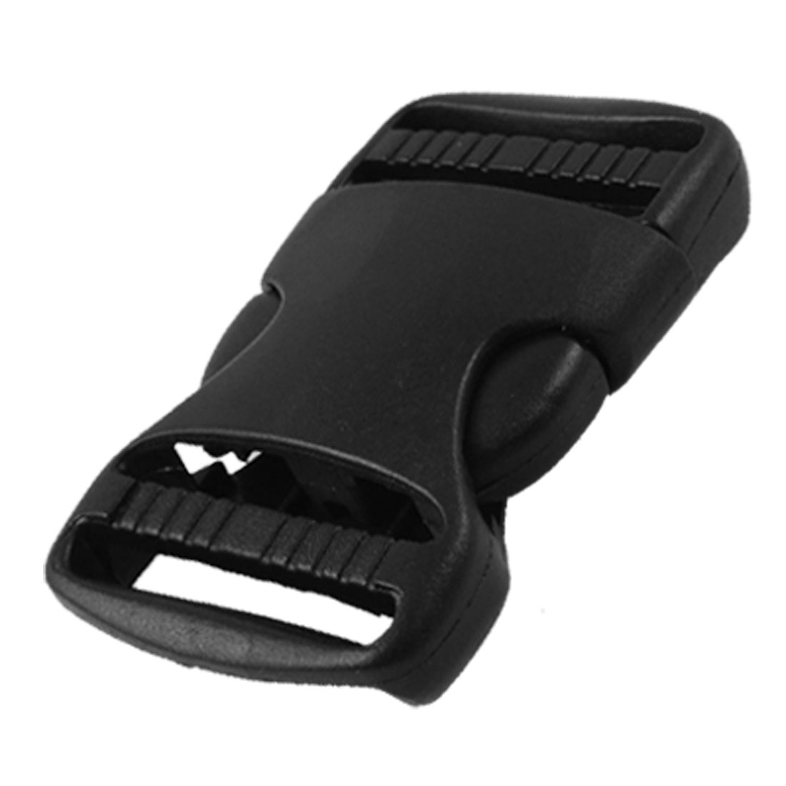 Luggage 35mm Width Strap Replacement Side Quick Release Buckle Black